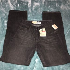 NWT Boys Levi's Jeans 505 Straight Leg Regular Fit